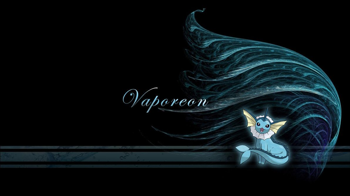 Vaporeon Wave Wallpaper by Wild-Espy on DeviantArt