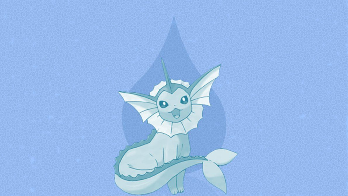 Vaporeon – Wallpaper by DaShyster on DeviantArt