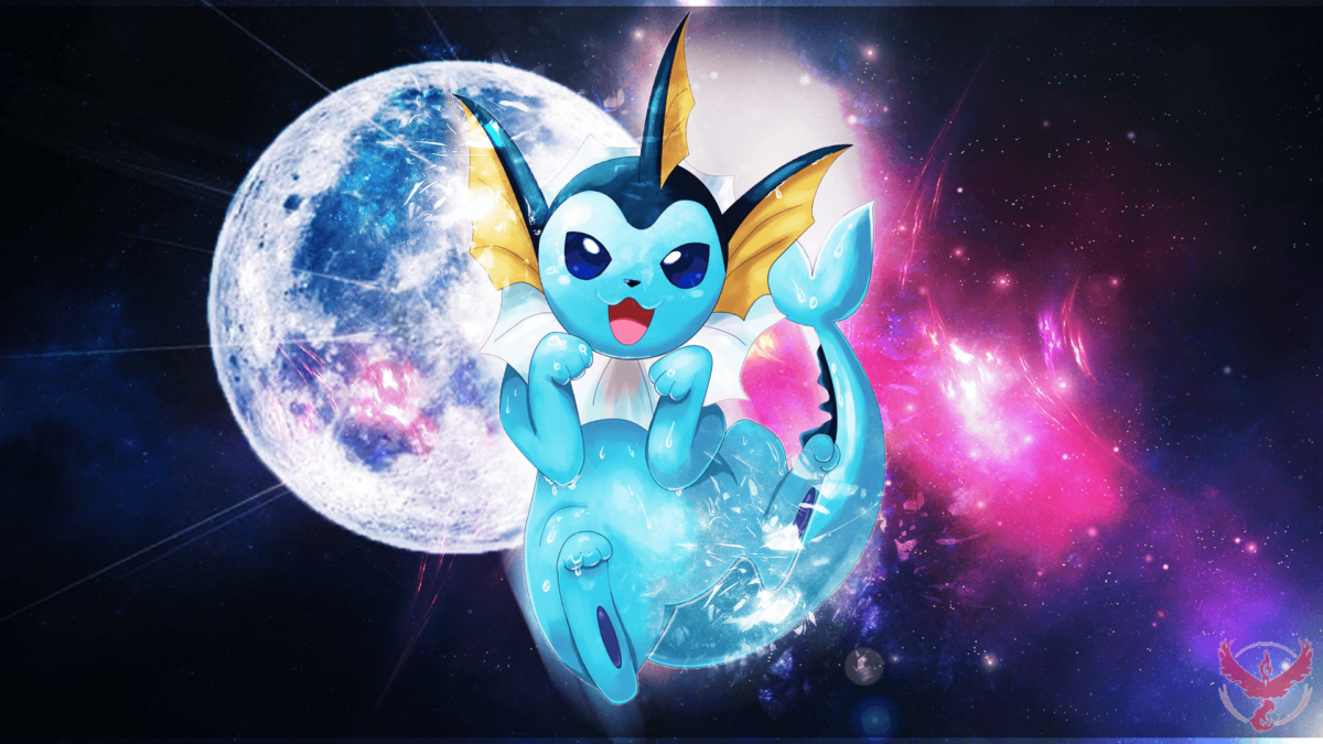 Vaporeon Wallpaper by nubcakemew on DeviantArt