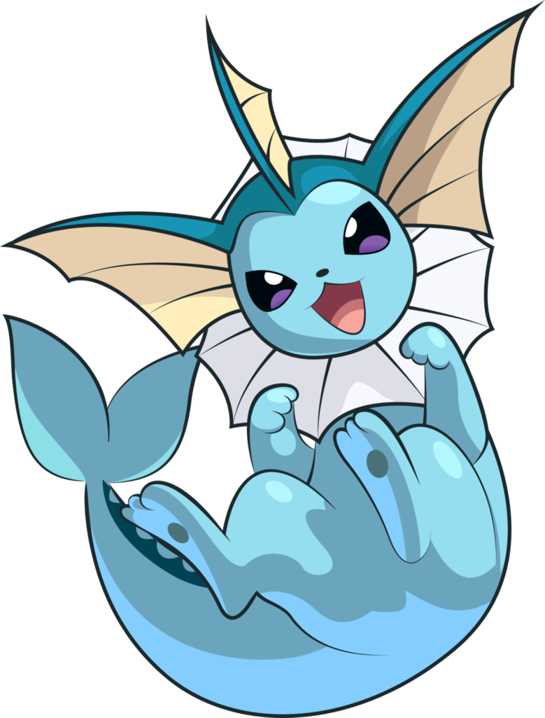 Pokemon Conquest – Vaporeon by Kalas17 on DeviantArt