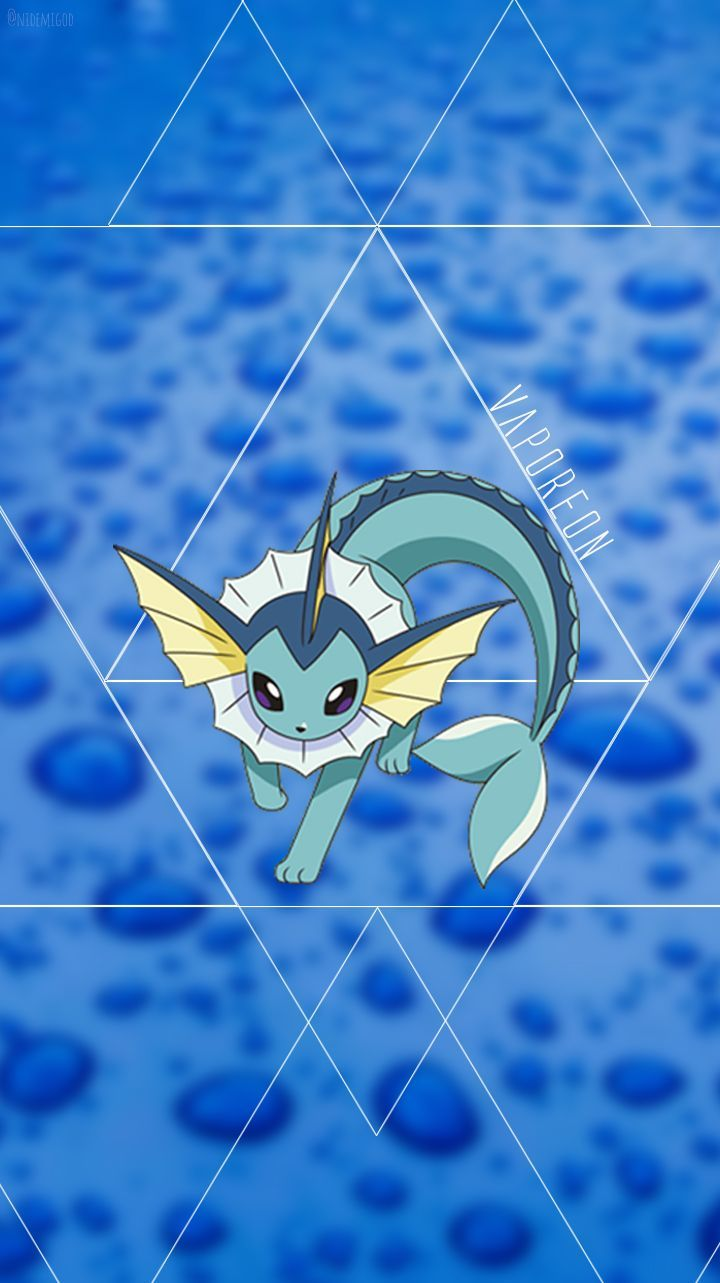 Wallpaper Vaporeon Water Kind Pokèmon. ❤ | HD Wallpapers – 10000+ …