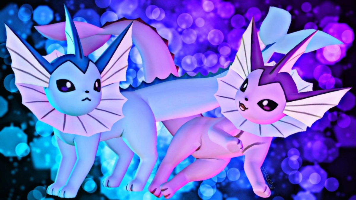 PokemonSfm] Vaporeon by KameronThe1 on DeviantArt