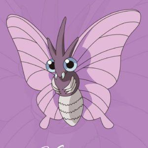 download Venomoth wallpaper by PnutNickster – CSLXIABUVM7GA