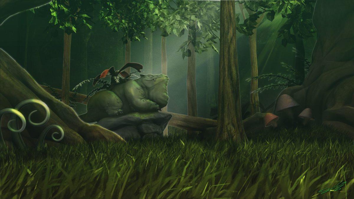 Venusaur's Forest by Ninespinedhedgehog on DeviantArt