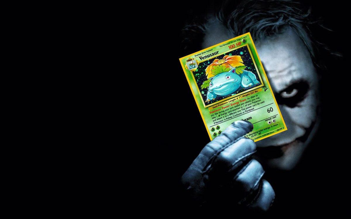 pokemon batman venusaur the joker pokemon cards joker playing card …