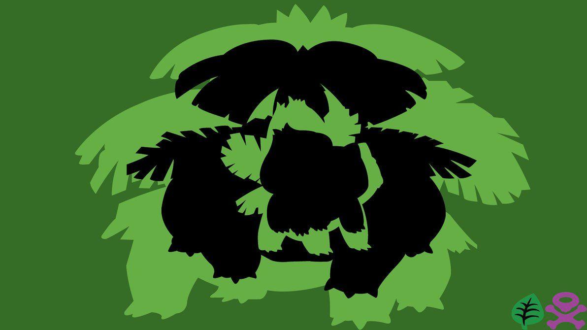Venusaur Evolution Line Minimalism by PikachuIsUber on DeviantArt