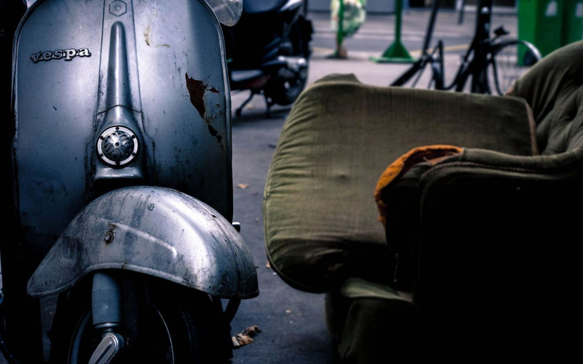 Old Vespa Scooter Exclusive HD Wallpapers #