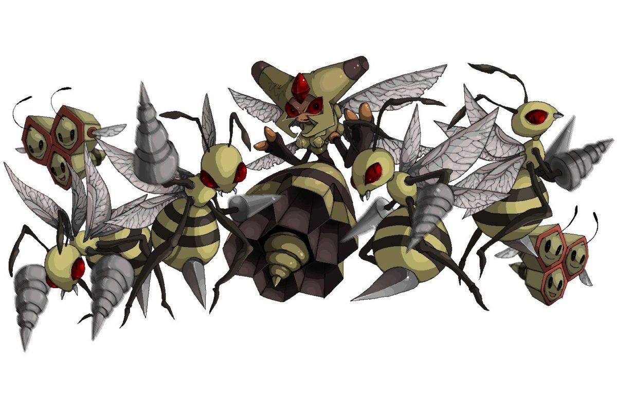 Vespiquen – Pokémon – Zerochan Anime Image Board