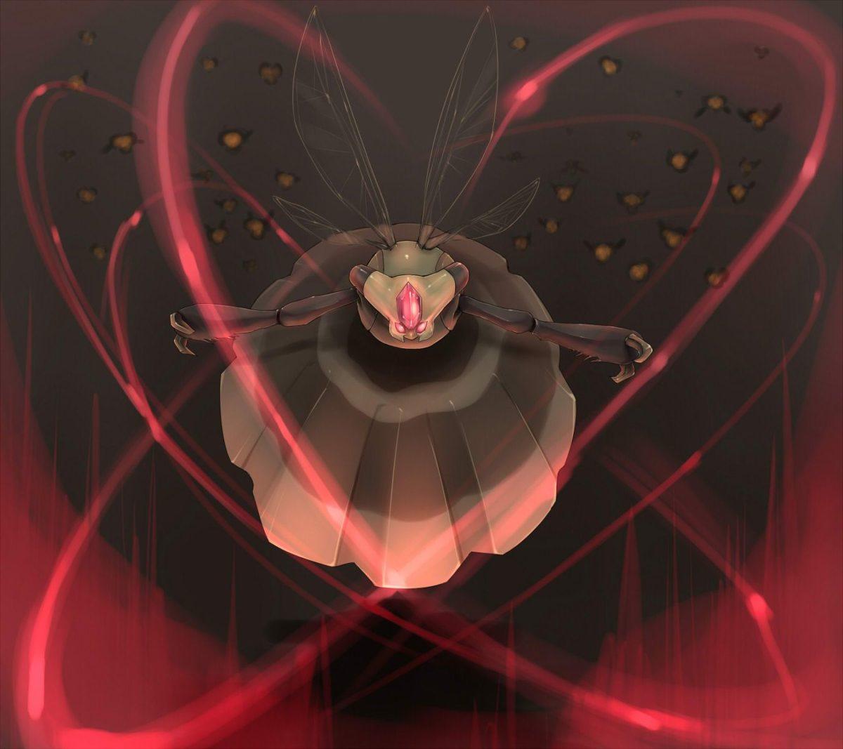 Pokemon of the day gen 4! Vespiquen! Long live the Queen Bee …