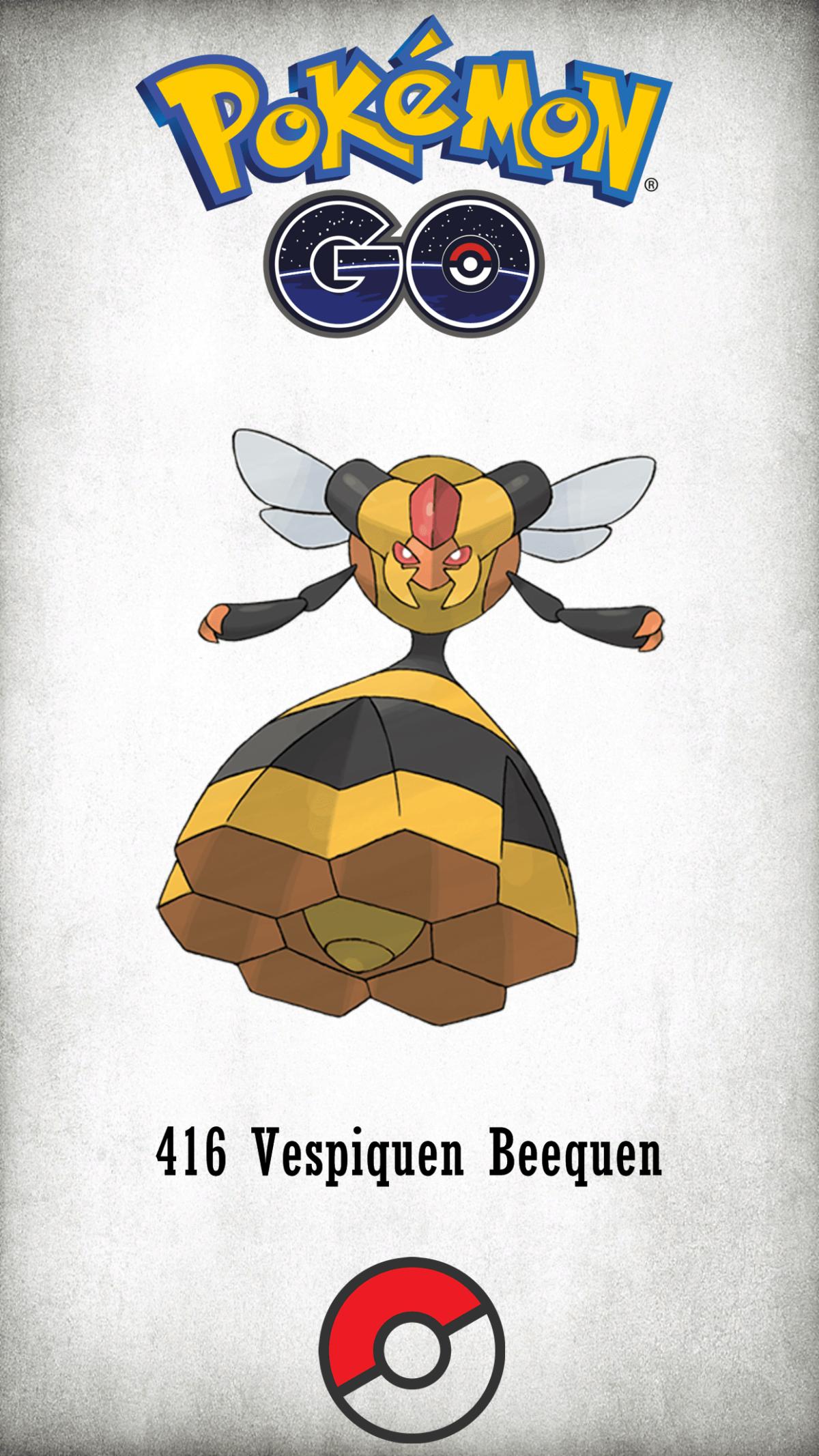 416 Character Vespiquen Beequen | Wallpaper