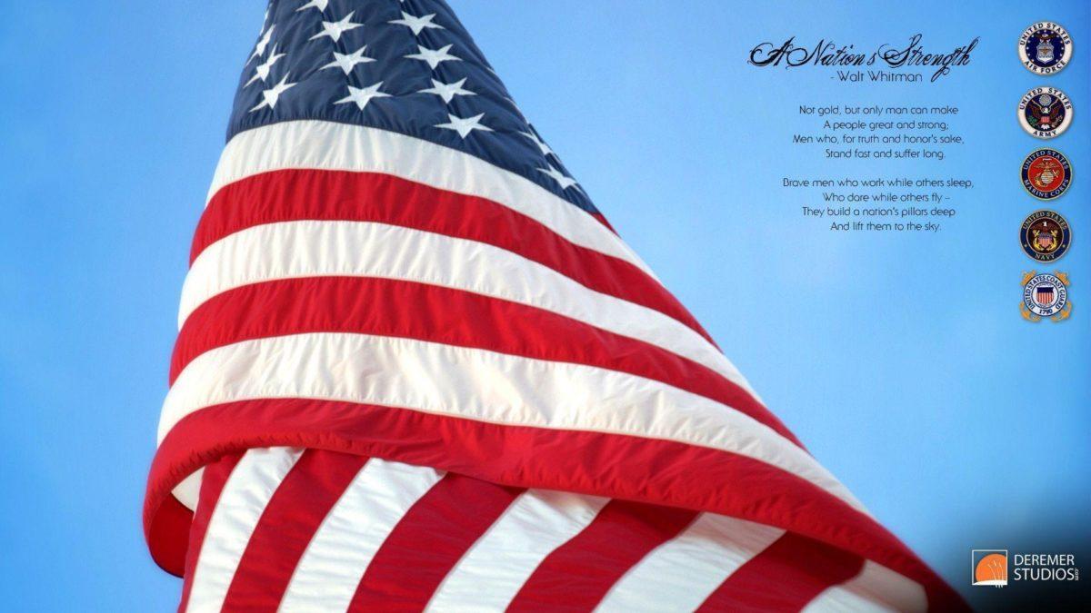 Freebie! HD Veterans Day Wallpaper « Deremer Studios