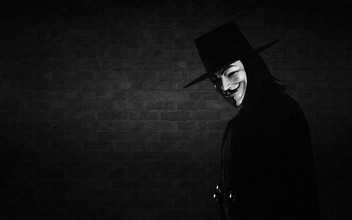 V For Vendetta Mask HD Wallpaper | 4hotos