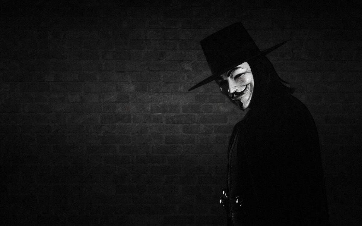 hat, wall, mask, V for vendetta wallpapers and images – wallpapers …