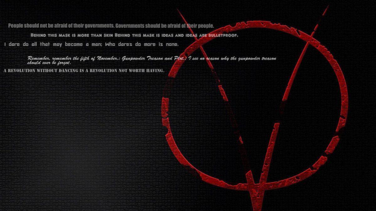 New V for Vendetta background | V for Vendetta wallpapers