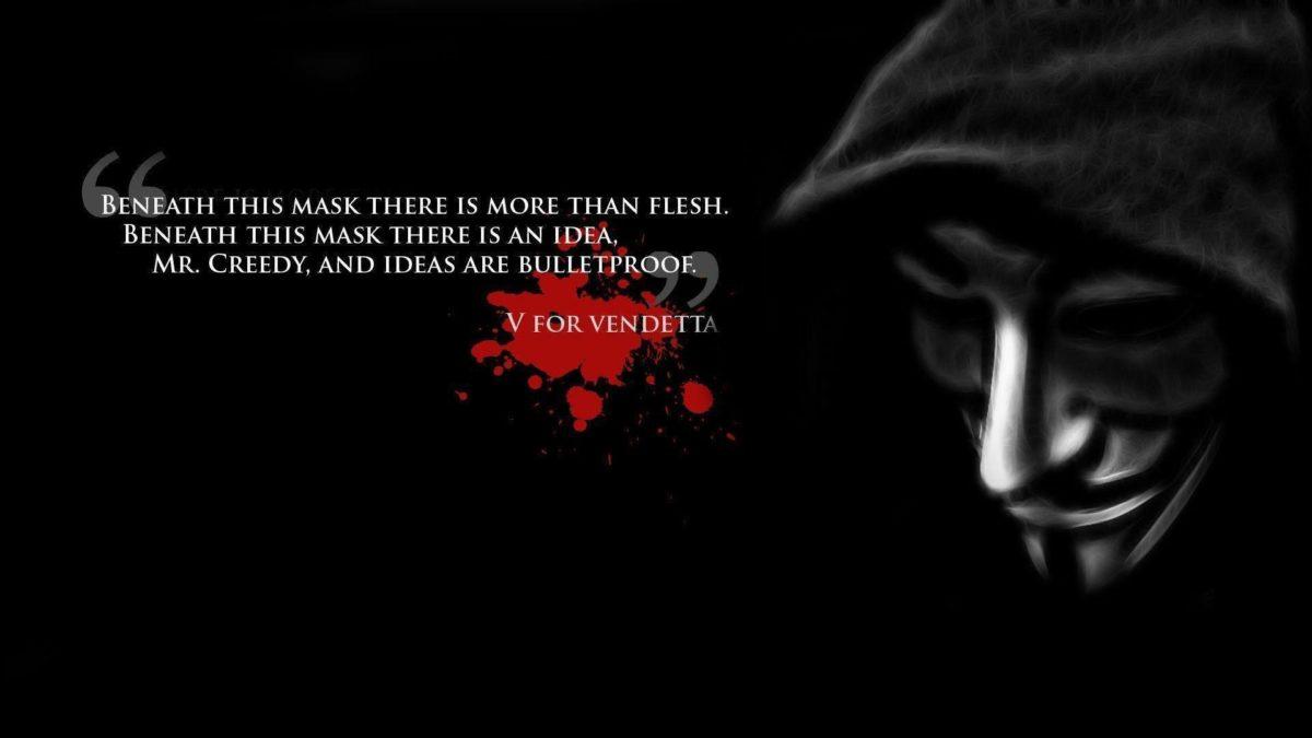 Images For > V For Vendetta Wallpaper Widescreen