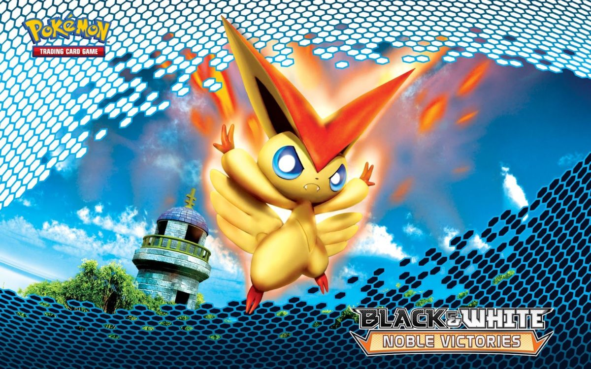 Victini Pokemon – HD Anime Wallpaper