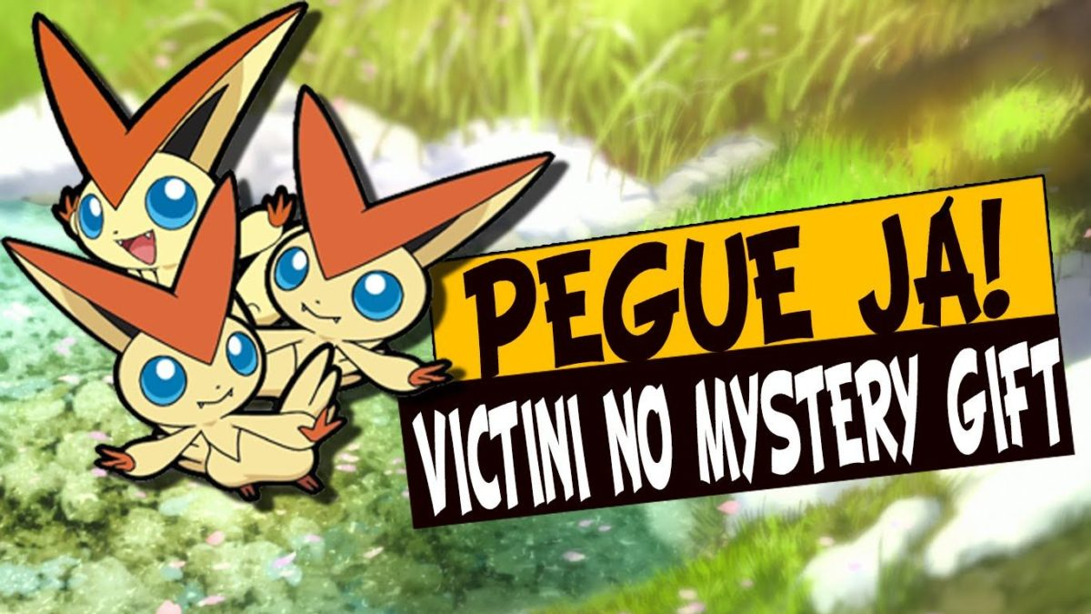 Evento – Victini Disponível no Mystery Gift!(Até dia 24/09) – YouTube