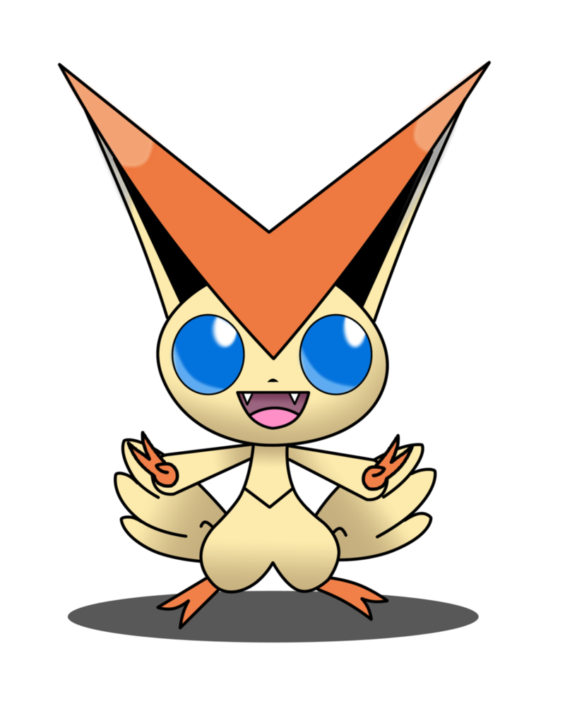 Victini by lWideShotl on DeviantArt