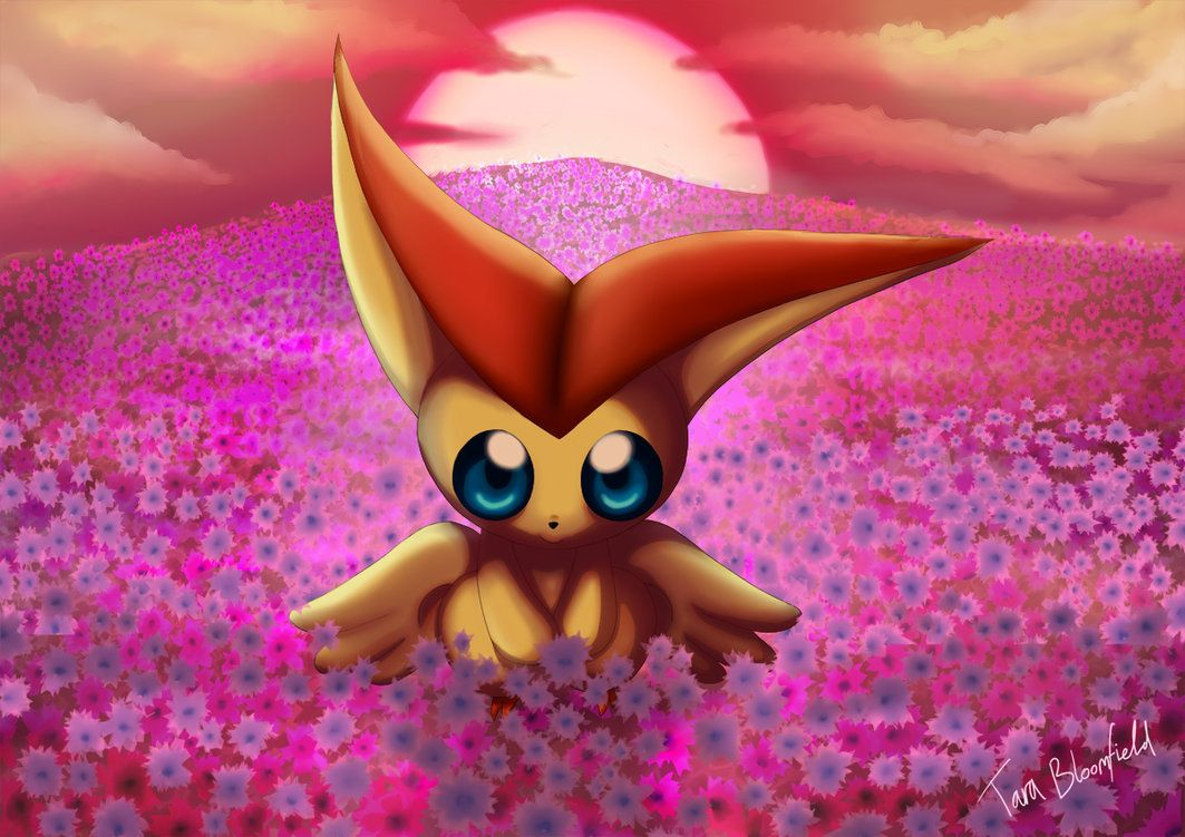 Victini's Gift by Shaami on DeviantArt