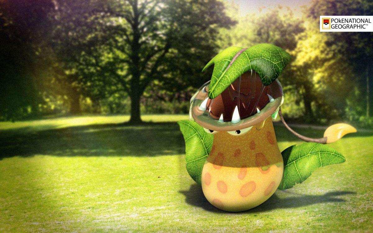 Pokemon Wallpaper – Victreebel |