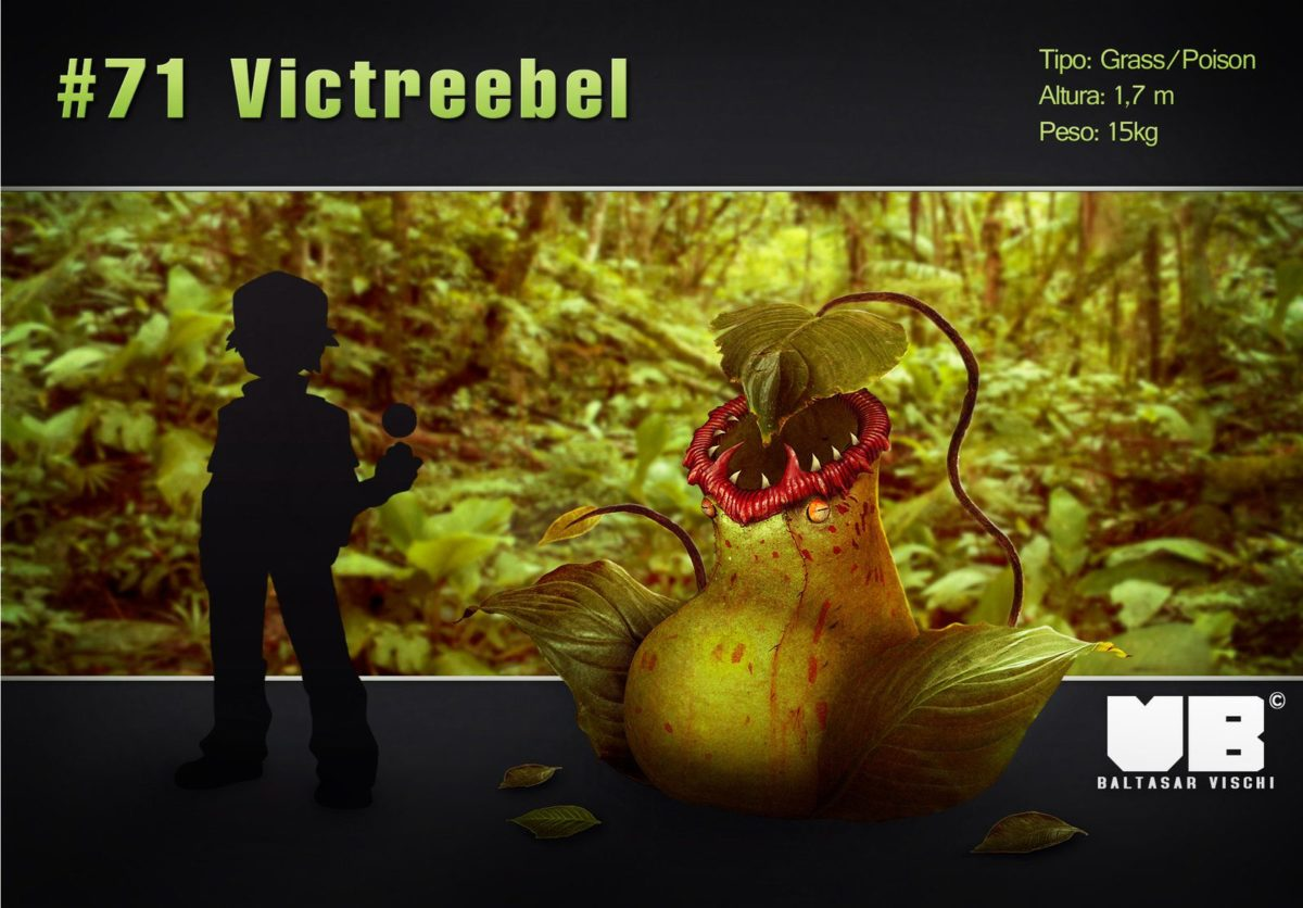 Victreebel in real life by BaltasarVischi on DeviantArt
