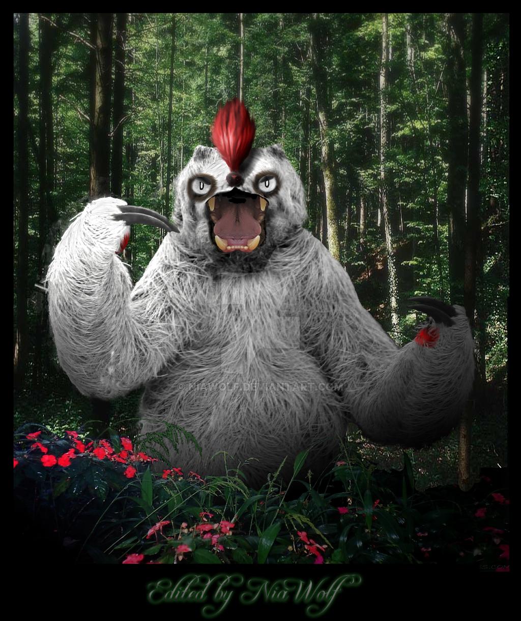 Vigoroth, the Sloth by NiaWolf on DeviantArt