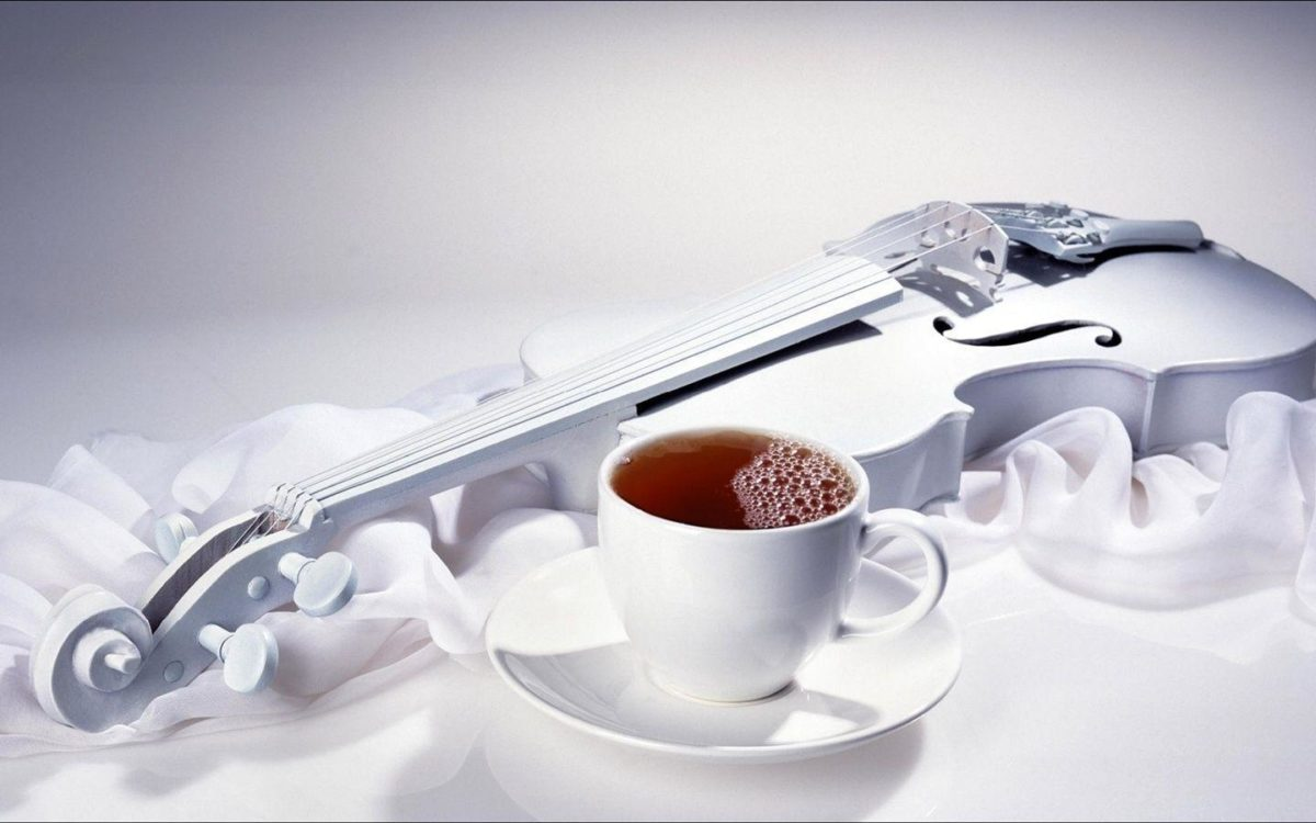 Coffee and violin Wallpaper | 1440×900 resolution wallpaper …
