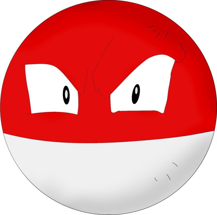 Colored Voltorb by InuKawaiiLover on DeviantArt