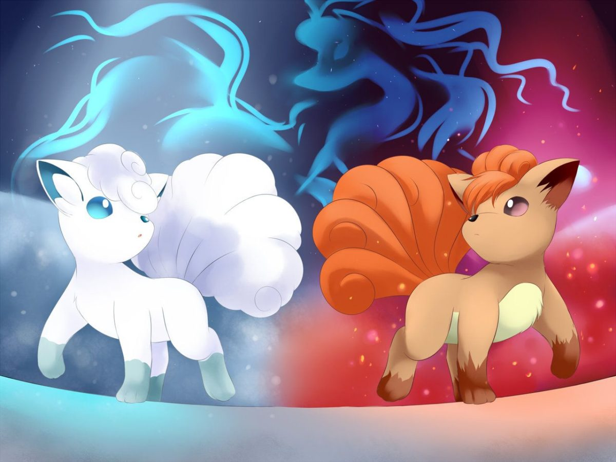 When Fire meets Ice: The path of Vulpix by YomiTrooper on DeviantArt