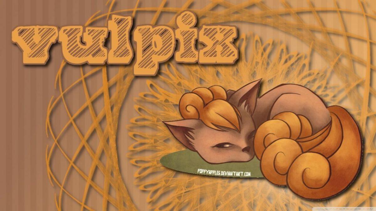 Firey Vulpix – Pokemon ❤ 4K HD Desktop Wallpaper for 4K Ultra HD TV