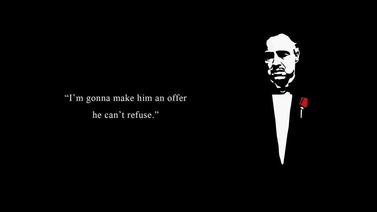 Godfather Movie Gang Mafia Entertainment wallpaper #