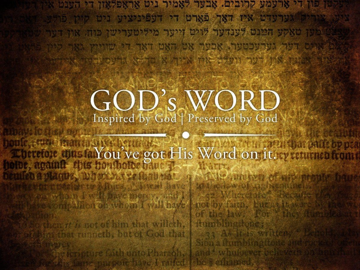 GOD's Word Christian HD Wallpaper | Christian Wallpapers