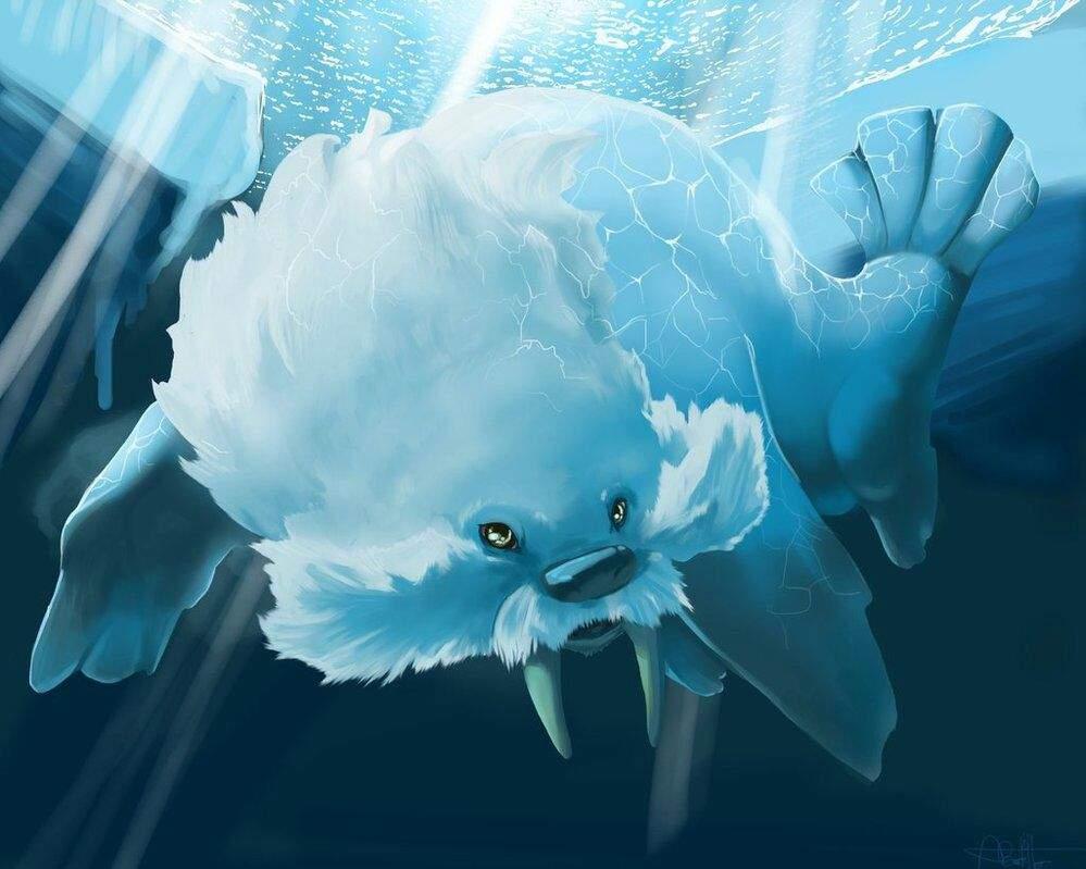Curse Walrein (new set) | Pokémon Amino