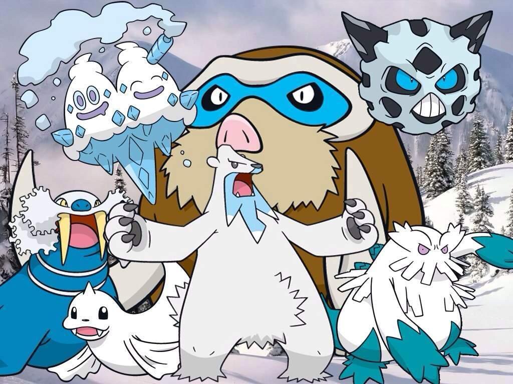 Top 10 Favorite Ice-type Pokémon! | Pokémon Amino