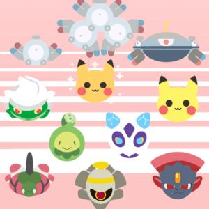 download Magnemite, Magneton, Magnezone, Roserade, shiny Pikachu, normal …