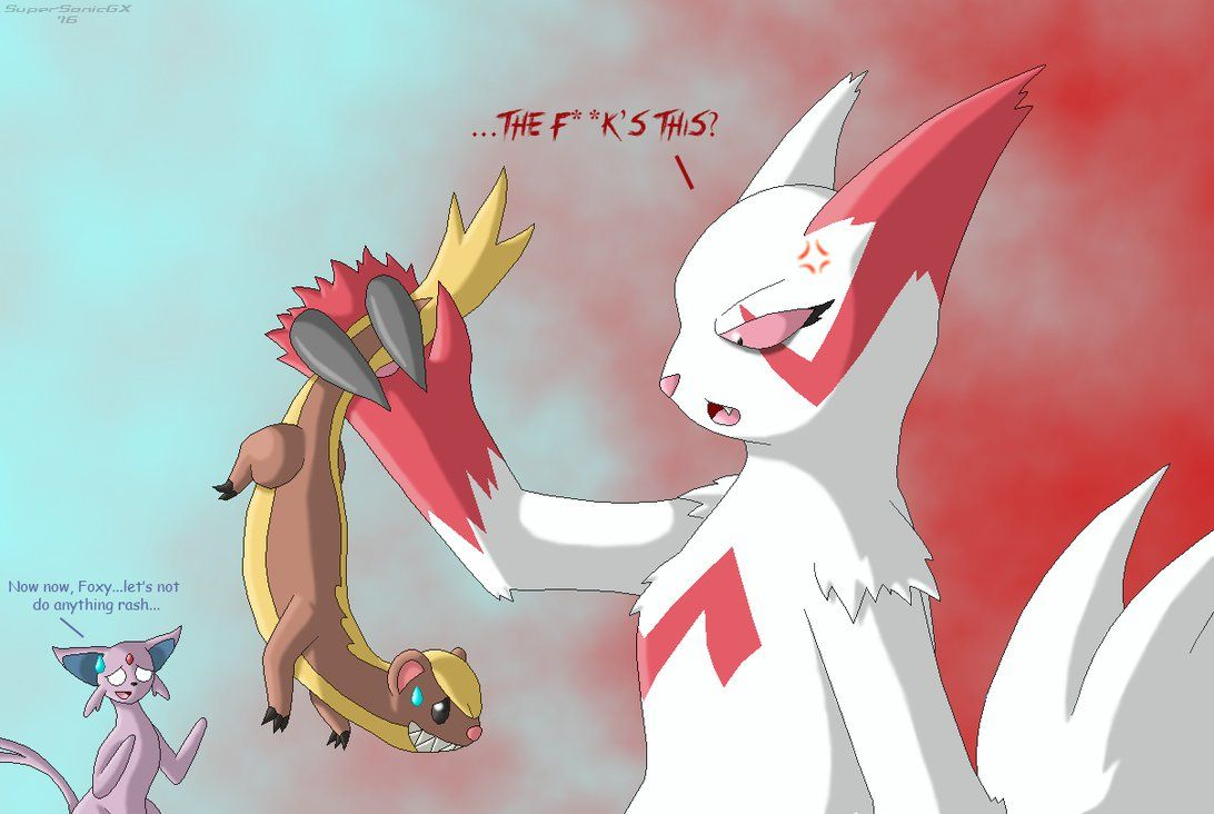 Yungoos, Meet Zangoose… by SuperSonicGX on DeviantArt