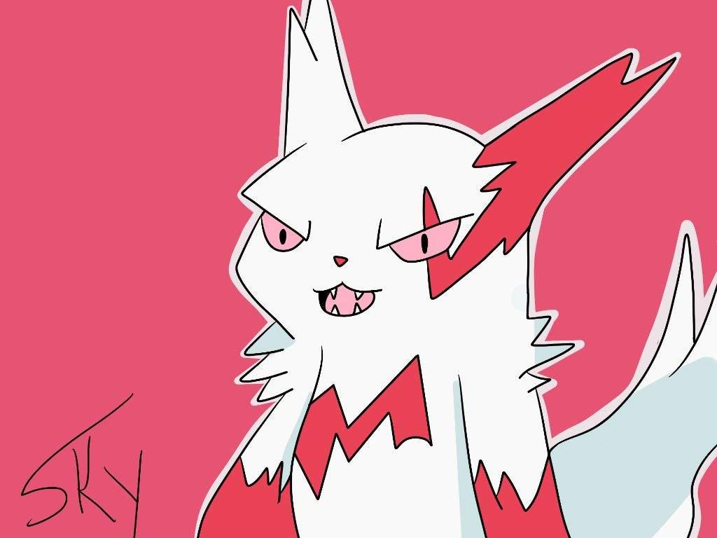 Zangoose art + Update | Pokémon Amino