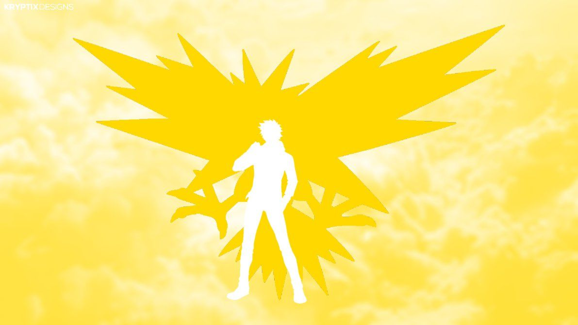 Zapdos and Instinct Leader Spark HD Wallpaper by KryptixDesigns on …