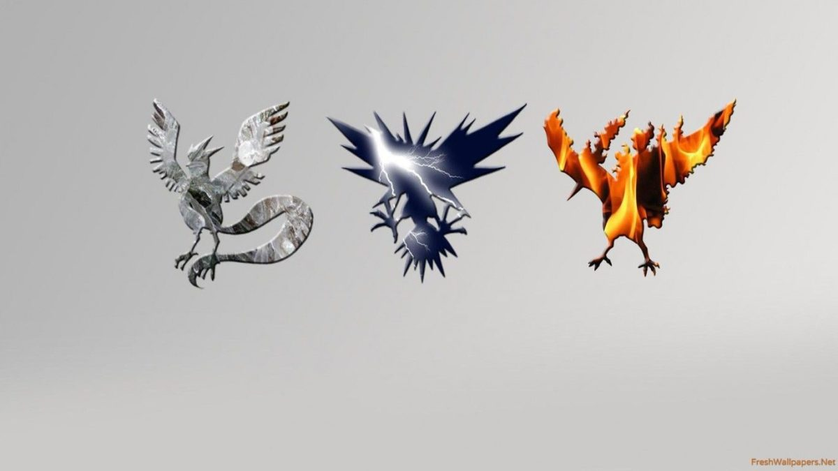 Articuno, Zapdos and Moltres – Pokemon wallpapers | Freshwallpapers