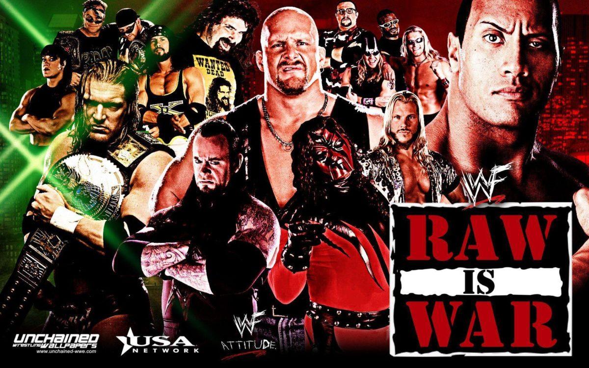 WWF Monday night Raw – WWE Wallpaper (31330022) – Fanpop