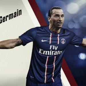 download Zlatan Ibrahimovic PSG Wide HD Wallpaper
