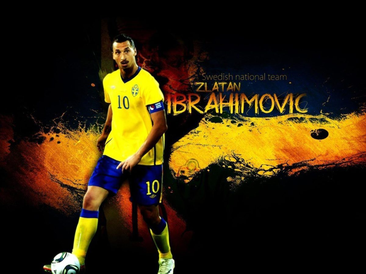 Zlatan Ibrahimovic Swedish National Team Wallpaper, iPhone …