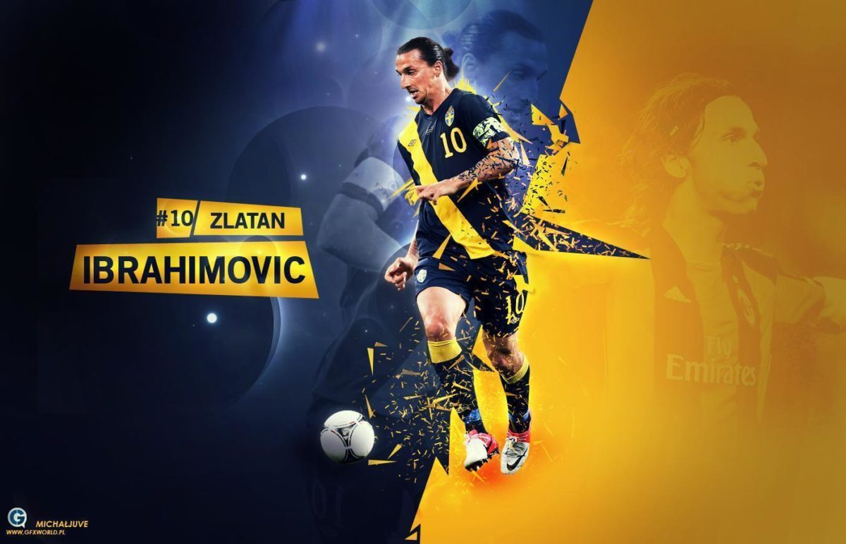 Zlatan Ibrahimovic 10 Wallpaper | Football wallpapers