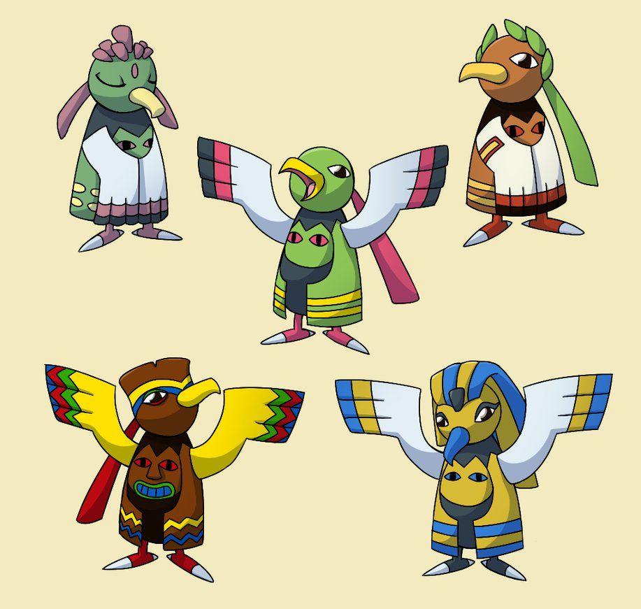 PokemonSubspecies: Xatu by CoolPikachu29 on DeviantArt