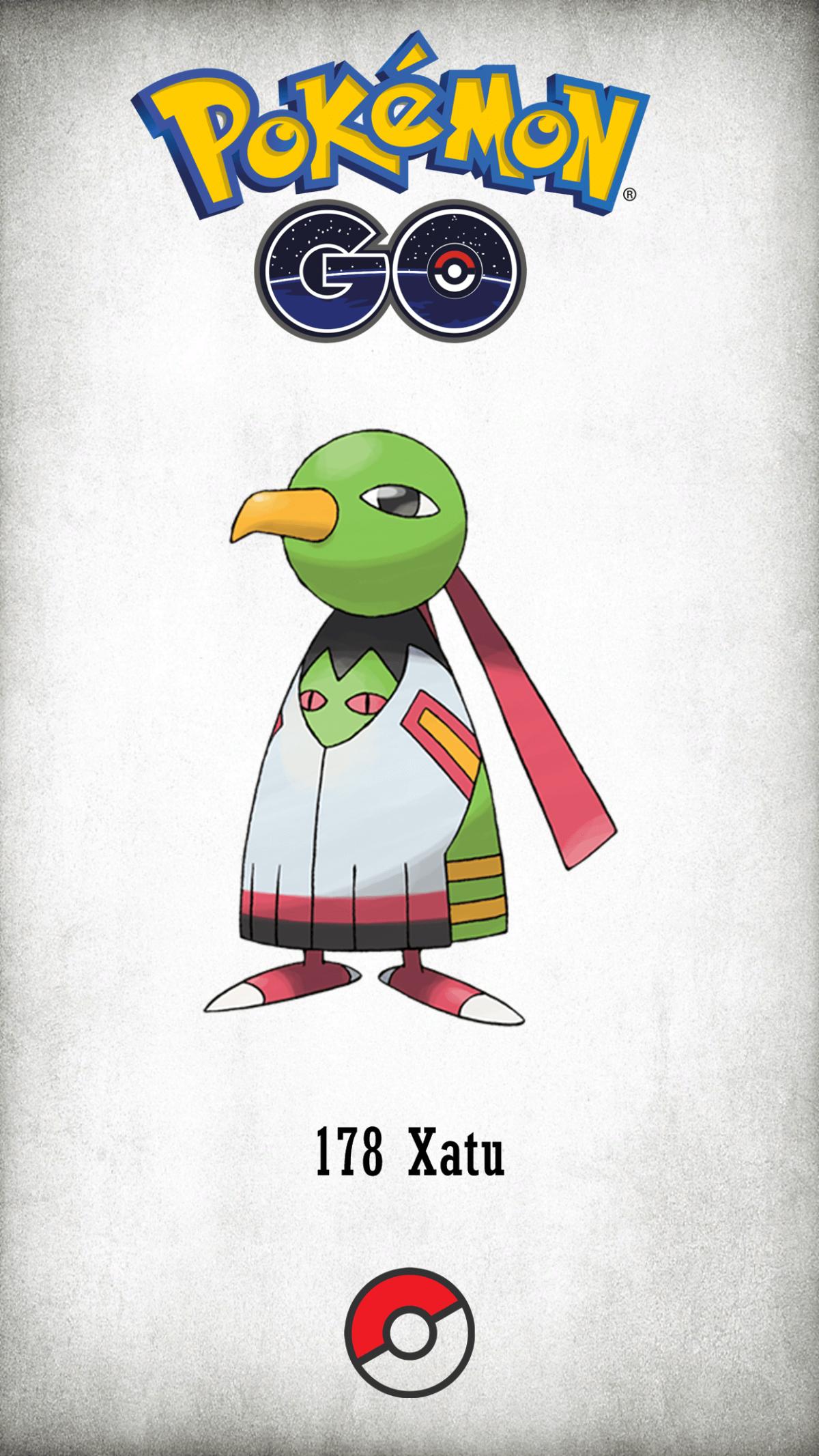 178 Character Xatu | Wallpaper