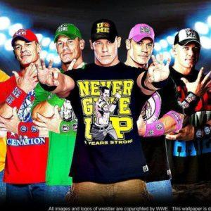 download WWE John Cena Multi-Color Wallpaper Widescreen V3 by …